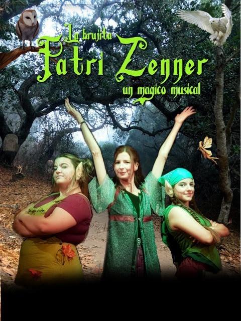 La brujita Patri Zenner, un mágico musical