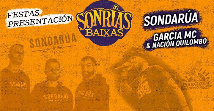 Festa SonRías en Oporto: SonDaRúa + García Mc & Nación Quilombo