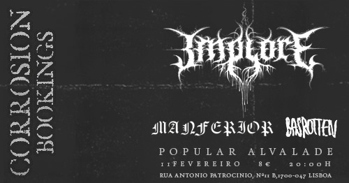 Implore [Death Grind Punk - Alemanha] • Lisboa