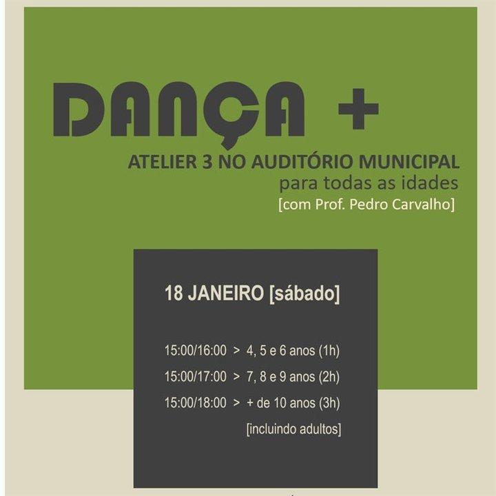Ateliers de Dança no Auditório Municipal