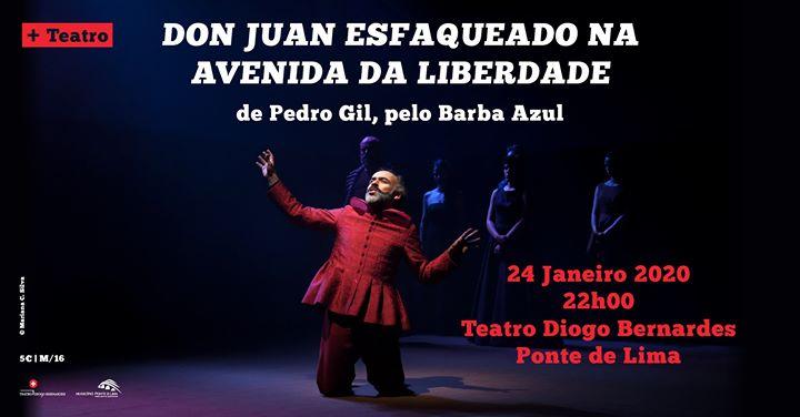 Don Juan Esfaqueado na Avenida da Liberdade, de Pedro Gil