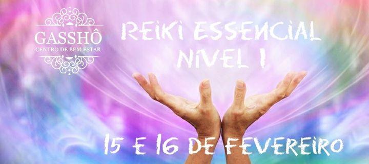 Formação de Reiki Essencial Nível I