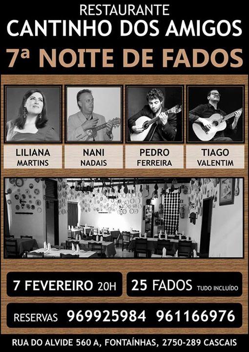 7ª Noite de Fados no 'Cantinho dos Amigos'
