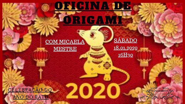 Oficina de Origami - Celebrar o ano do Rato