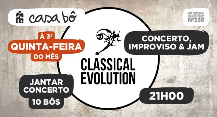 Classical Evolution Porto Sessions