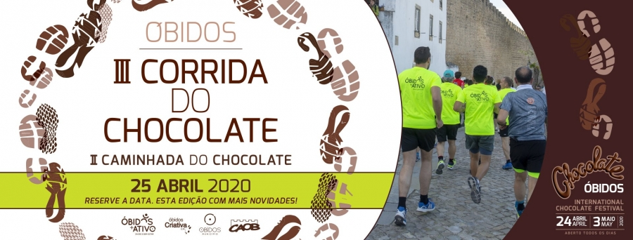 III Corrida do Chocolate |  II Caminhada do Chocolate