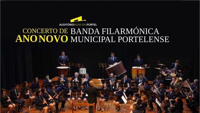 CONCERTO DE ANO NOVO - BANDA FILARMÓNICA MUNICIPAL PORTELENSE
