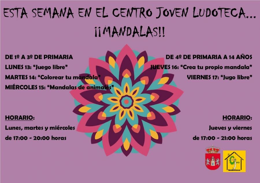 Centro Joven Ludoteca temática: Mandalas