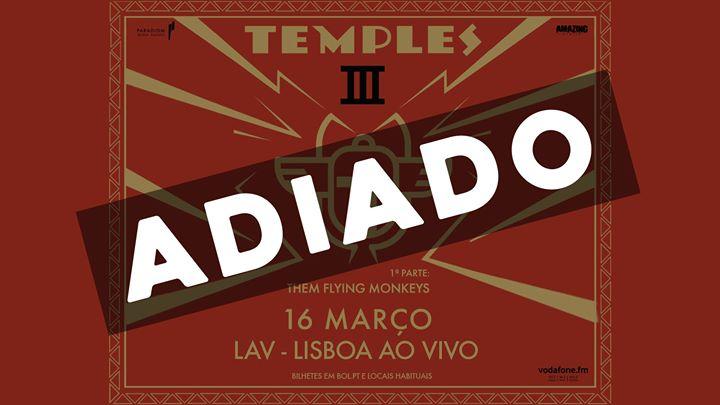 Adiado - Temples em Lisboa