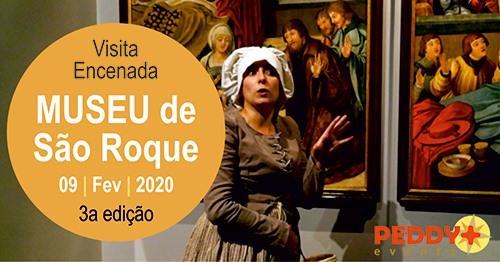 Visita Encenada ao Museu de São Roque (3ª Edição)