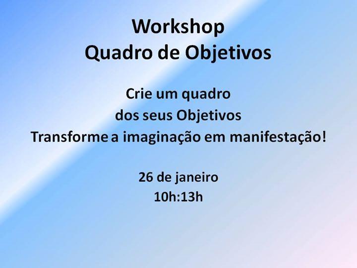 Workshop 'Quadro de Objetivos'