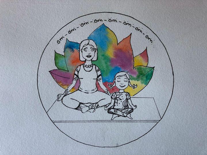 Aula experimental de yoga para crianças