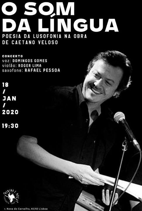 O Som da Língua - Poesia da Lusofonia na Obra de Caetano Veloso