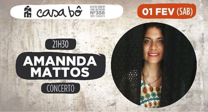 Concerto: Amannda Mattos