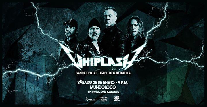 Whiplash - Tributo a Metallica