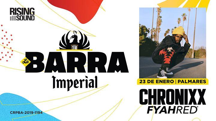FYAH RED® Ft. Chronixx • La Barra Imperial® (Evento Oficial)