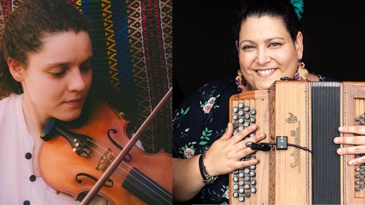 Baile Folk com Celina da Piedade e Ana Santos