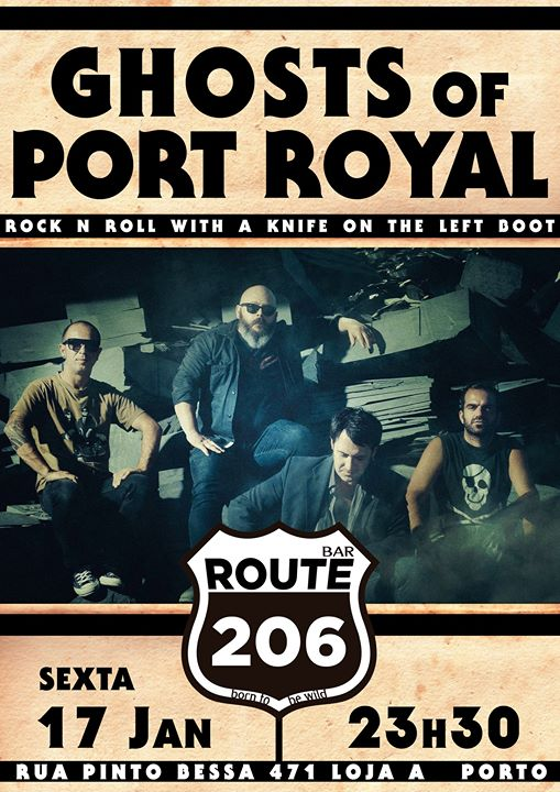 GHOSTS OF PORT ROYAL | Route 206 Bar