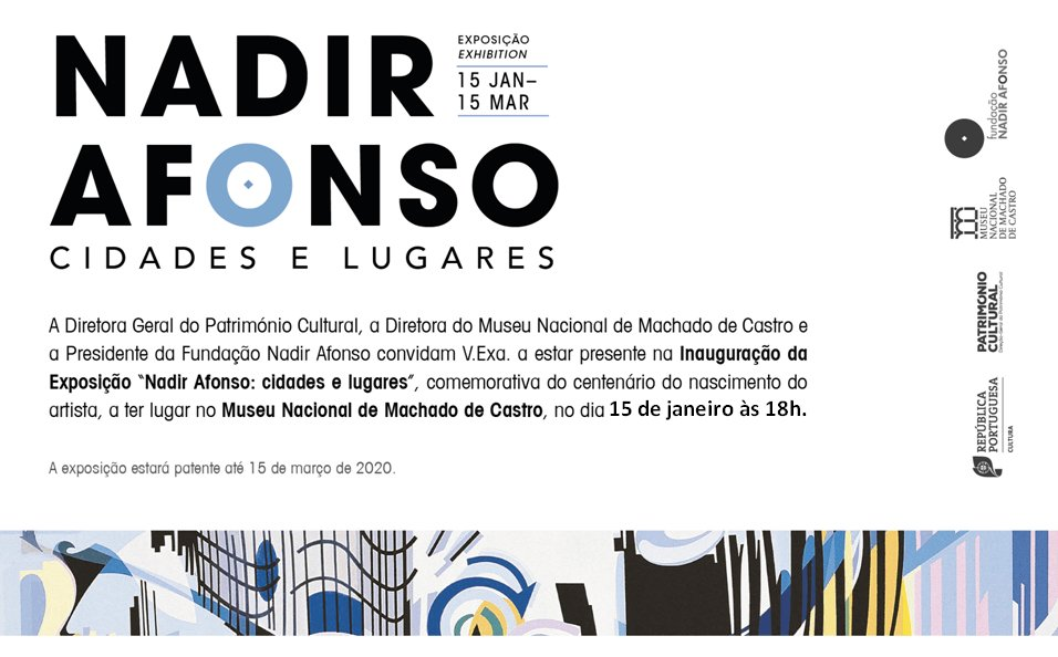 Exposição 'Nadir Afonso: Cidades e Lugares'