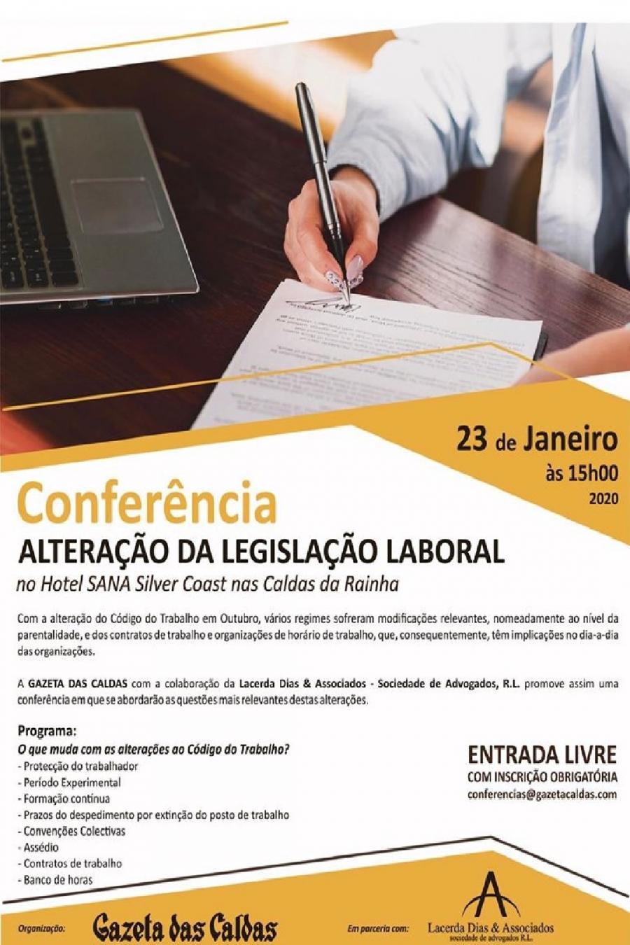 Conferência 'Alteração da Legislação Laboral'