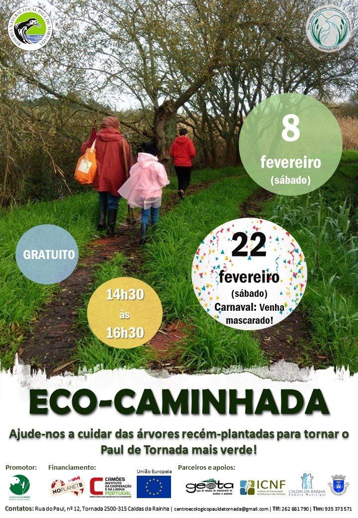 Eco-caminhada - Ação de voluntariado ambiental