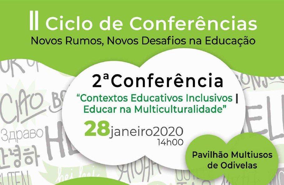 II Ciclo de Conferências   Novos Rumos, Novos Desafios na Educação