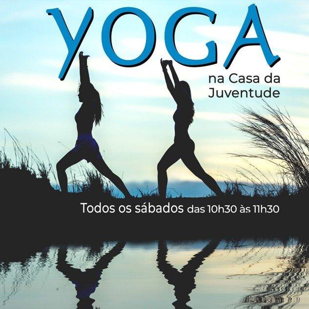 Yoga na Casa da Juventude!
