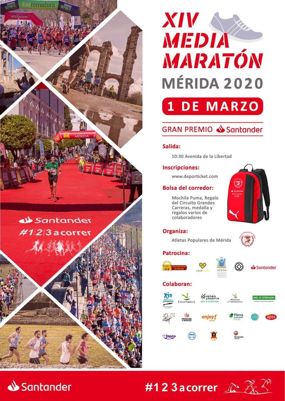 Media Maratón Mérida, Patrimonio de la Humanidad