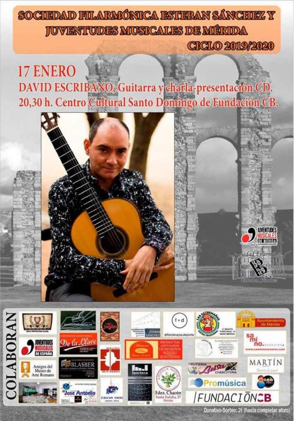 Concierto de guitarra de David Escribano