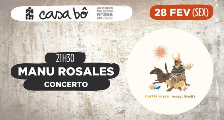 Concerto: Manu Rosales