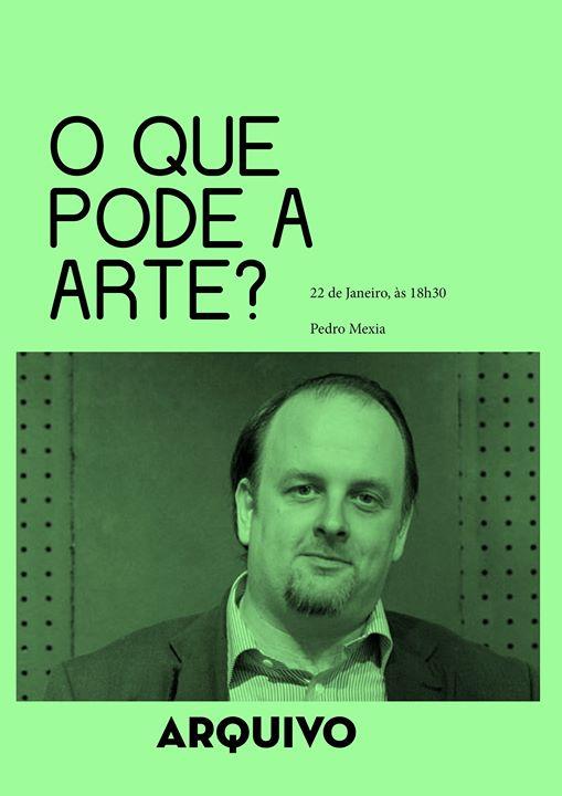 O que pode a arte? com Pedro Mexia