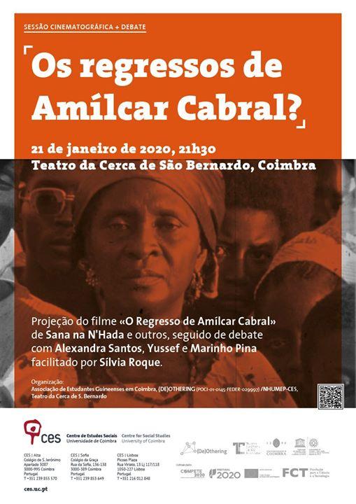 Os regressos de Amílcar Cabral? [cinema + debate]