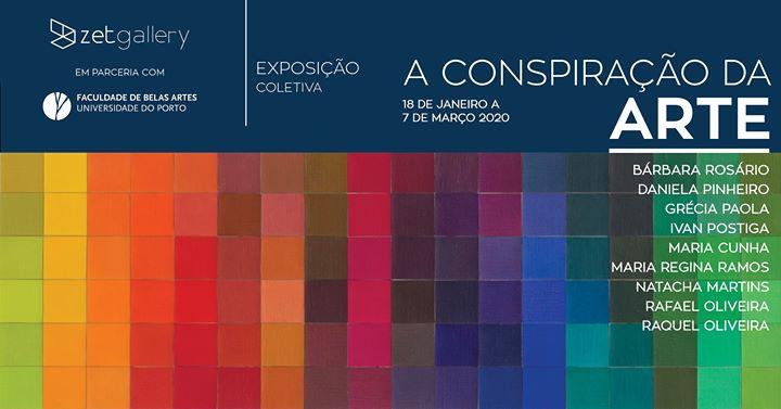 A Conspiração da Arte: inauguração | opening