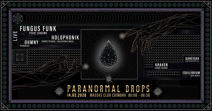 Paranormal Drops - Fungus Funk (2h LIVE) SHIVA BDAY PARTY