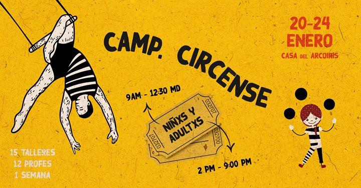 Camp. Circense Arcoiris 2020