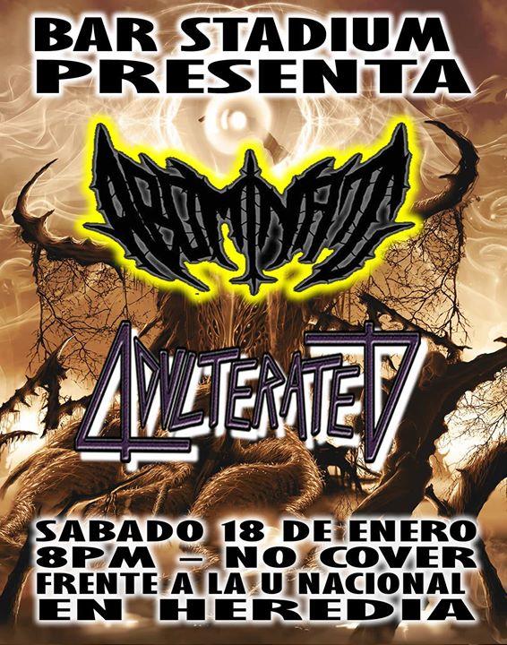 Noche de Death Metal y Thrash