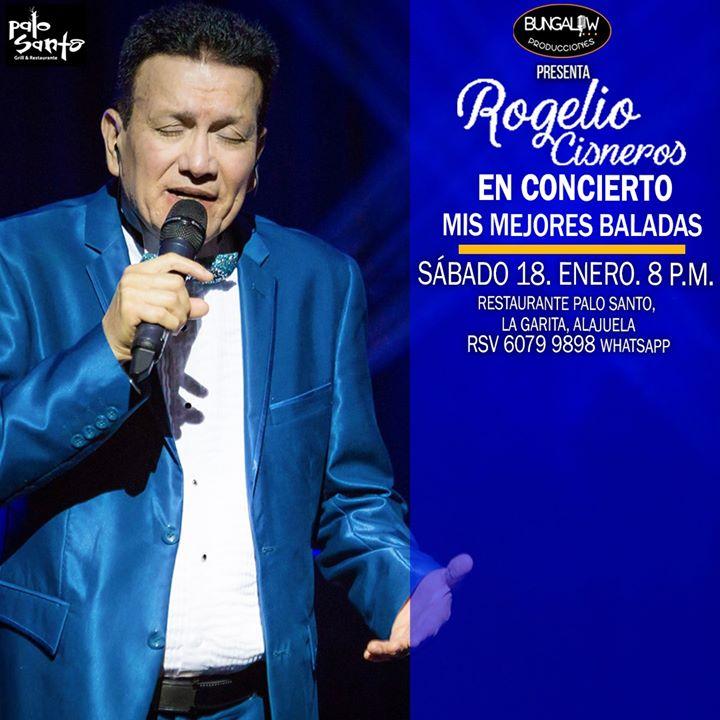 Concierto Mis mejores Baladas PaloSanto La Garita, Sáb.18 8pm