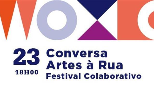 Conversa Artes à Rua | Festival Colaborativo