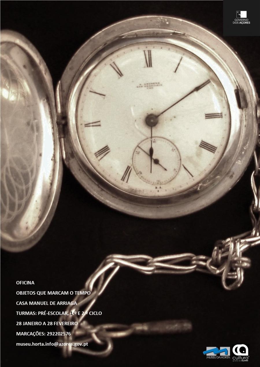 Oficina 'Objetos que marcam o tempo'