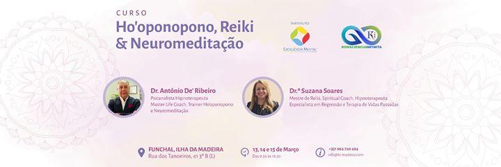Curso de Ho'oponopono, Reiki & Neuromeditação