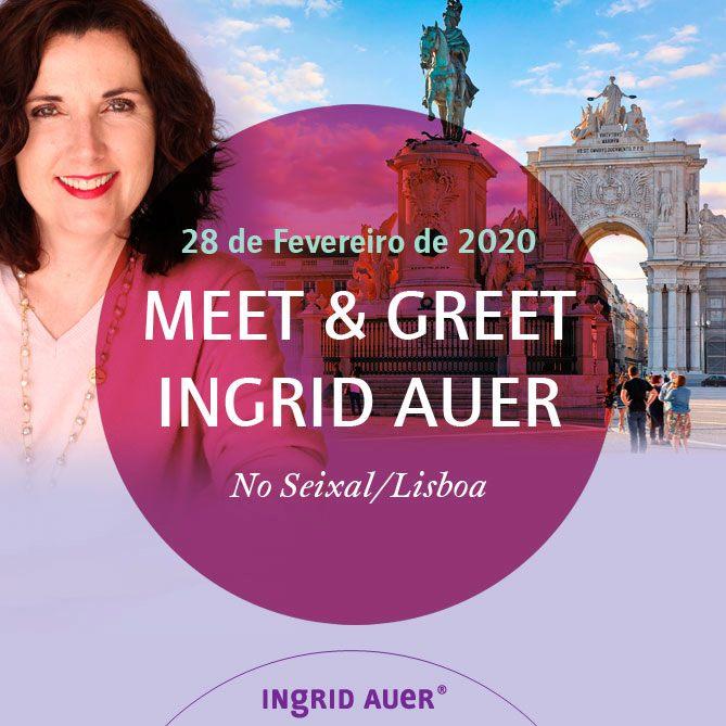 Seixal | MEET & GREET - Com o Poder dos Anjos com Ingrid Auer