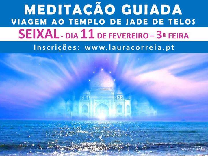 Seixal | Meditação Guiada Viagem ao Templo de Jade de Telos