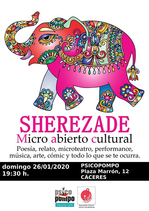 Sherezade. Micro abierto cultural.