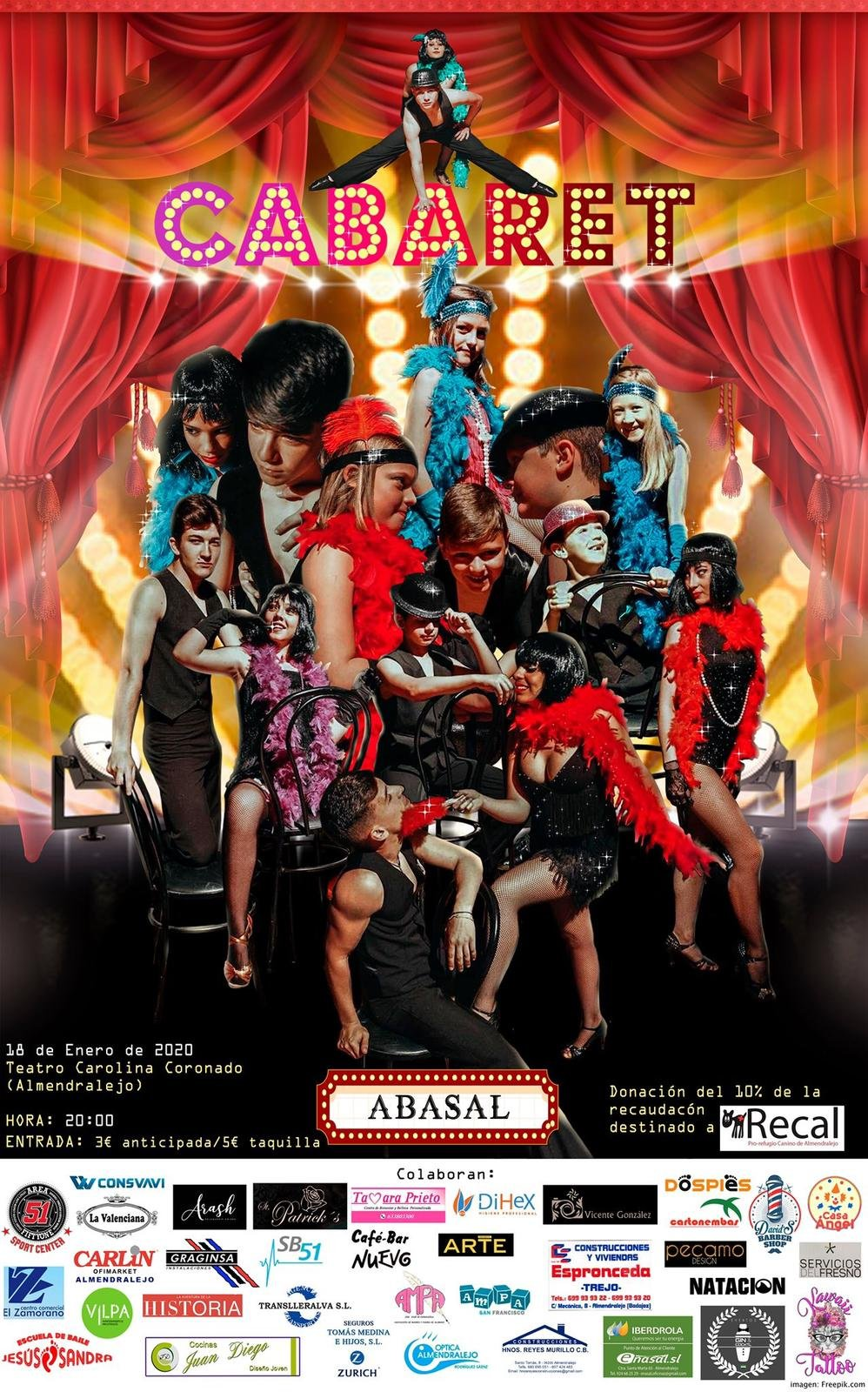 ¡WELCOME TO CABARET!