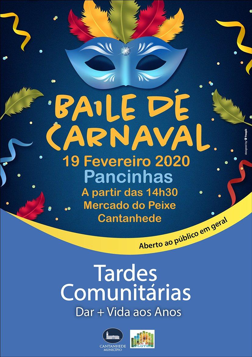 Tardes Comunitárias: Baile de Carnaval
