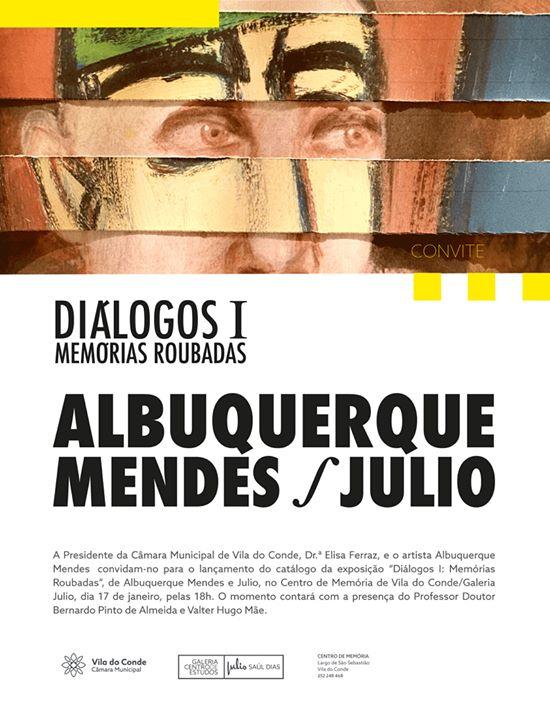 Lançamento Catálogo | Diálogos I Memórias Roubadas