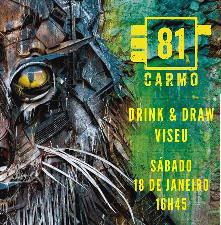 Drink & Draw Viseu #5