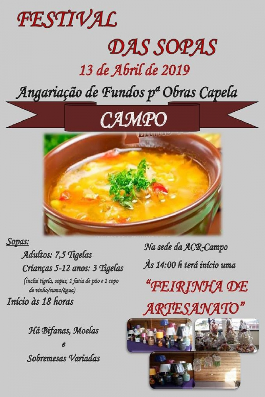 Festival das Sopas no Campo