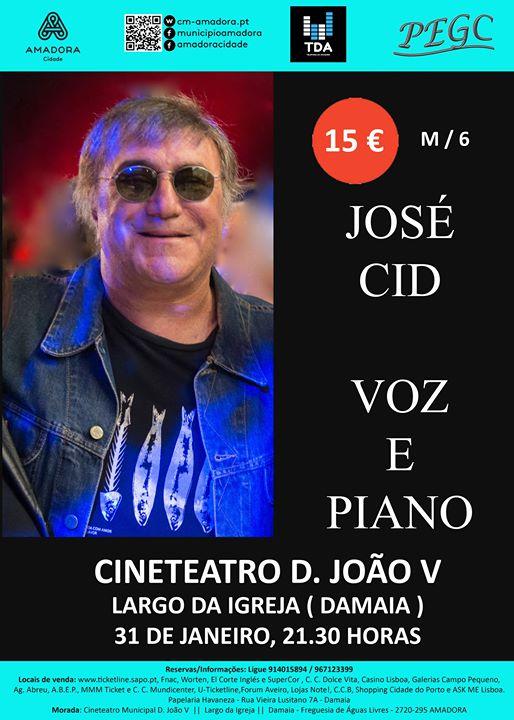 José Cid - Voz e Piano