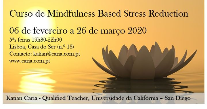 Curso MBSR - Mindfulness Based Stress Reduction